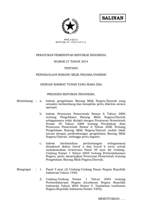 Peraturan Presiden R I No 4 Tahun 2015 Tentang Pengadaan Barang Jasa peraturan presiden nomor 4 tahun 2015 new style for 2016 2017