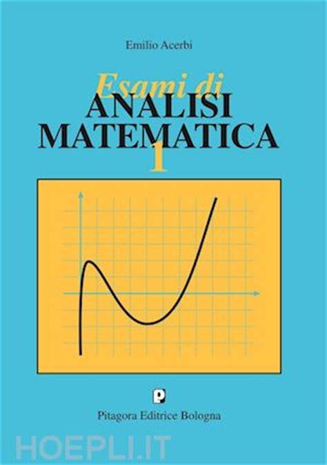 libreria pitagora bologna esami di analisi matematica 1 acerbi emilio pitagora