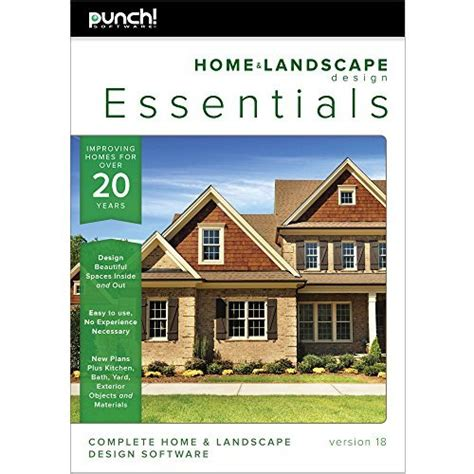 punch home design software free download full version punch home landscape design essentials v18 download