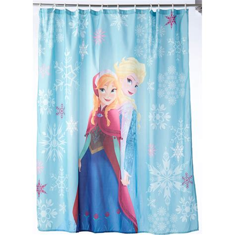 frozen shower curtain disney frozen shower curtain shower curtains bath rugs