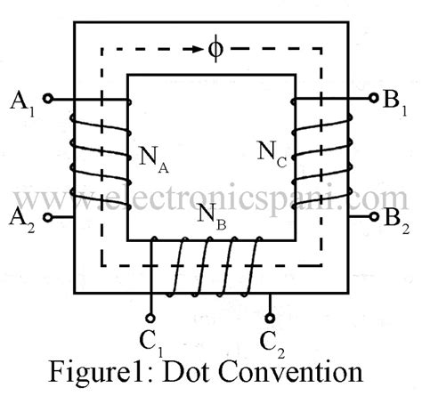 inductance dot convention dot convention inductor in series and parallel electronics tutorials