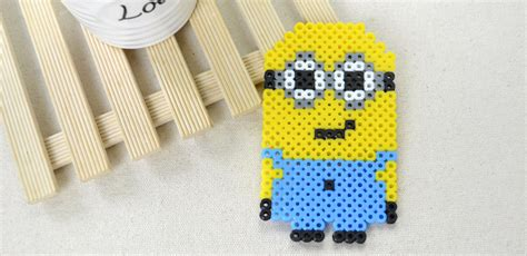 how to make out of perler perler minion family crafts