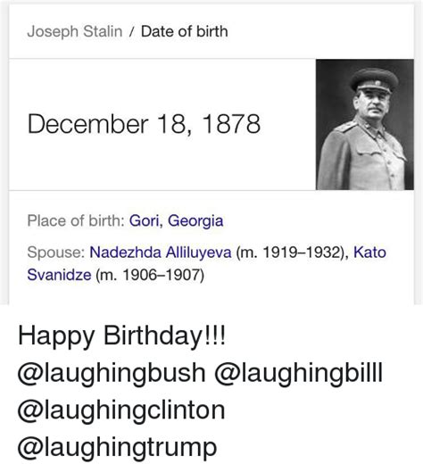 Search With Date Of Birth Search Joseph Stalin Memes On Me Me