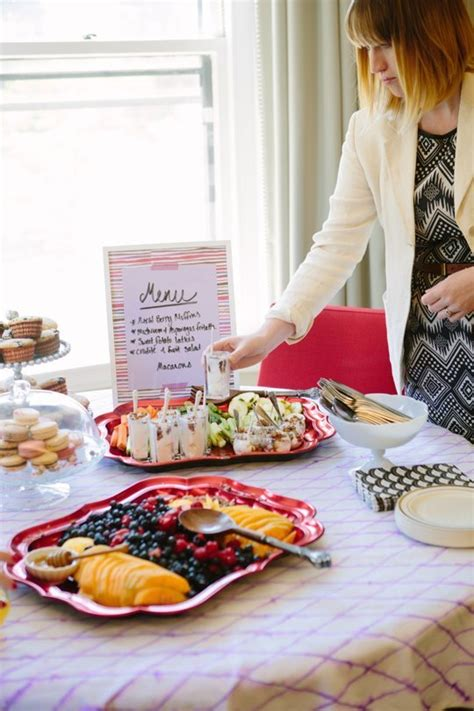 best wedding shower menu how to throw the best bridal shower pretty happy