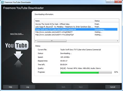 download youtube mp3 batch freemoresoft freemore youtube downloader batch