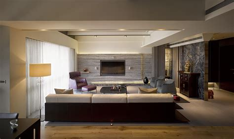 luxury modern living area interior design of haynes house by steve hermann los angeles two taiwan homes take beautiful inspiration from nature