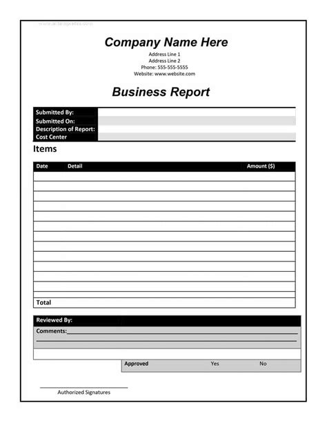 30 business report templates format exles template lab