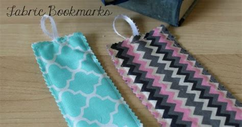 fabric crafts quick and easy fabric bookmarks home crafts by ali