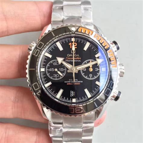 Omega Seamaster Planet 600m Swiss Clone 1 1 Best Edition Grey 1 replica omega seamaster planet 600m chronograph 215 30 46 51 01 002 jh stainless steel
