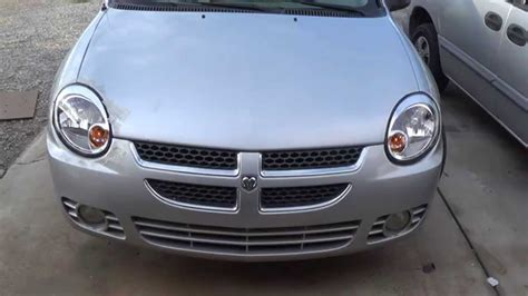 replace 174 dodge neon without headlight leveling system 2003 dodge neon headlight replacement youtube