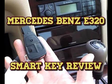 1998 mercedes e320 door lock remote fail mercedes e320 smart key review tutorial