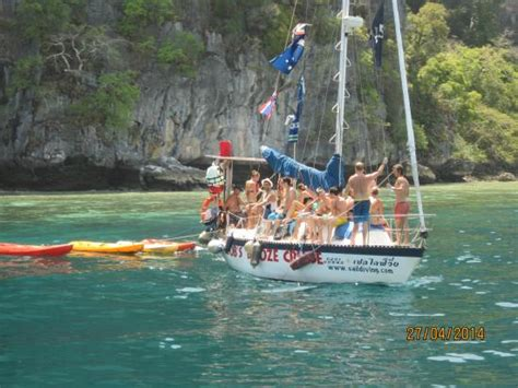 party boat anyone picture of koh phi phi tour krabi - Party Boat Krabi