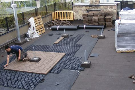 top deck systems pavers for rooftop decks professional deck builder