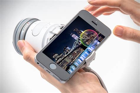 Kamera Olympus Air A01 olympus air a01 smartphone lens hiconsumption