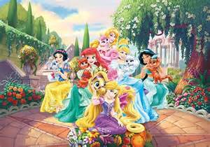 Komar Wall Murals palace pets disney paper wallpaper homewallmurals