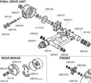 Honda Recon 250 Rear Axle Diagram Honda Trx250ex Parts Diagram
