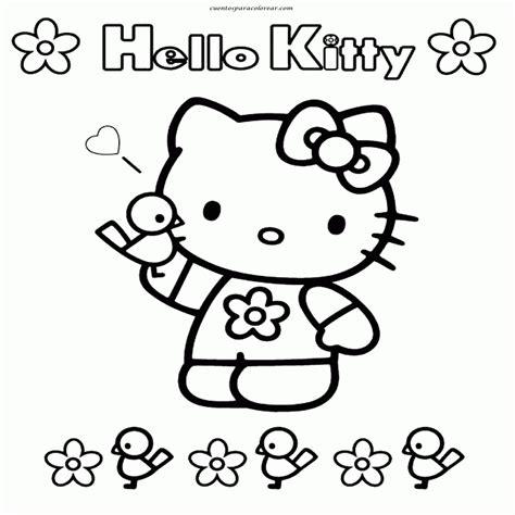 imagenes kawaii de hello kitty hermosa dibujos kawaii para colorear e imprimir