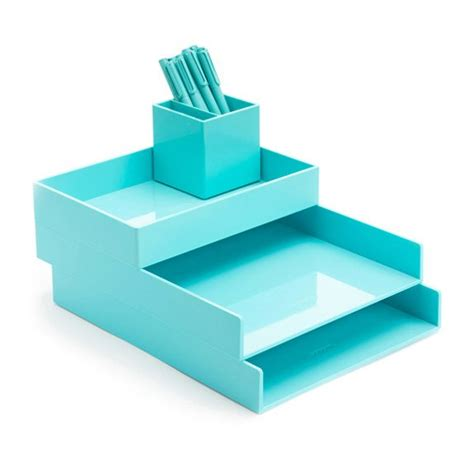 Turquoise Desk Accessories 10 Brilliant Ways To Keep Your Desk Organized