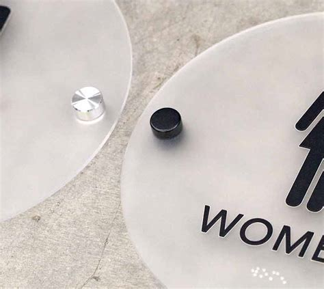cool bathroom signs stylish restroom signs with braille cool bathroom signs