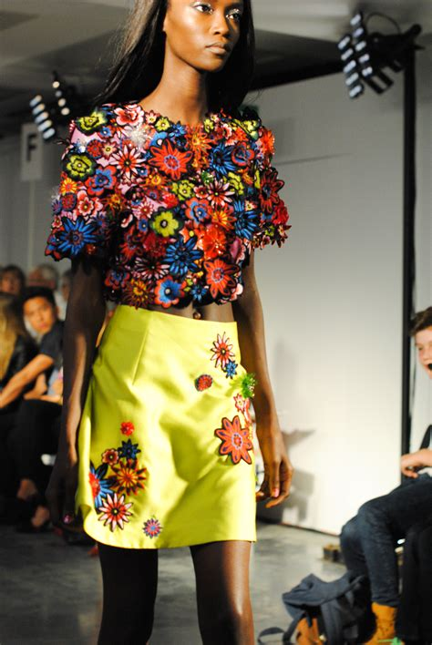house of holland london fashion week ss15 day two house of holland phoebe english hunter and