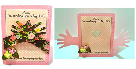 cards template hug i m sending you a big hug by cutups at