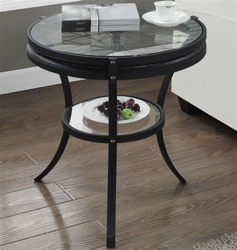 glass top accent table glass top accent table in side tables