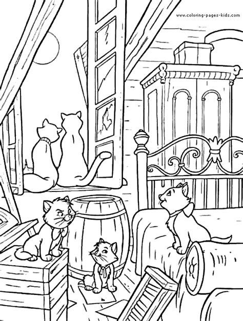 aristocat and coloring pictures coloring pages