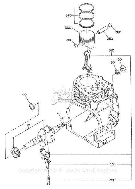crankshaft parts diagram robin subaru ey15 parts diagram for crankshaft