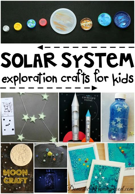 craft ideas for solar system monday link archives a bright and beautiful