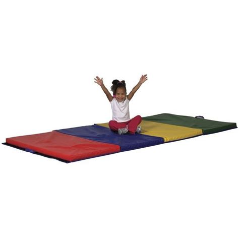 Foam Tumbling Mats by Tumbling Mat Gymnastics Cheerleading Folding Foam Mats Expandable 4x6 Equipment