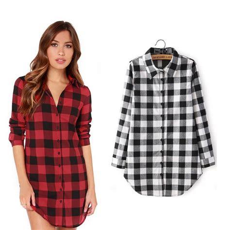 check vs plaid achetez en gros noir plaid chemise de flanelle en ligne 224