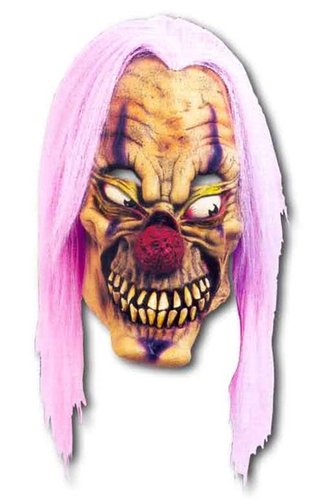 purple acid clown mask horror masks horror shop