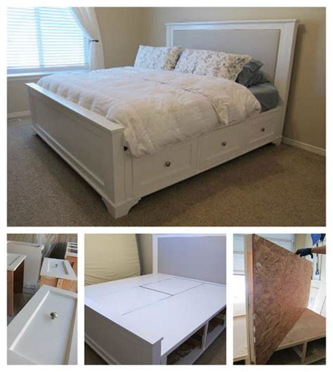 farmhouse storage bed creative ideas how to build a farmhouse storage bed with