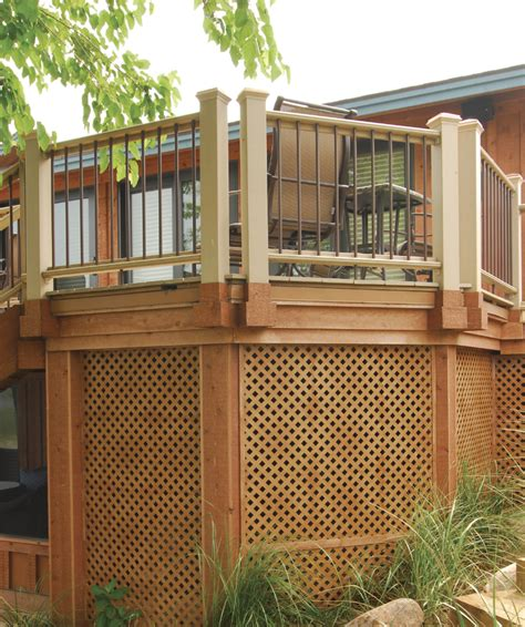 Deck lattice frame   Deck design and Ideas