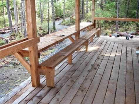 deck benches with backs pinterest the world s catalog of ideas