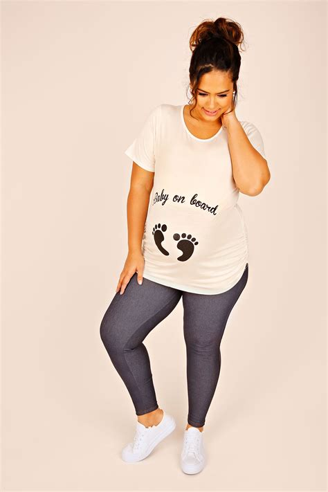 Does A Temporary Restraining Order Show Up On A Background Check Bump It Up Maternity Top With Black Glitter Baby On Board Plus Size 16 To 26