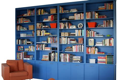 custom made contemporary built in bookcase by durham