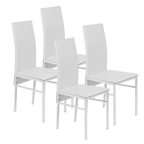 lot de 4 chaises pas cher lot de chaises blanches pas cher with lot de cuisine pas cher