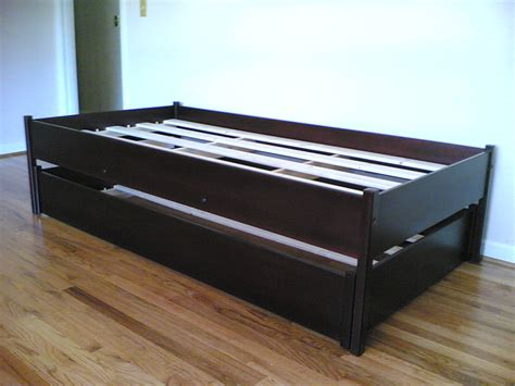 black trundle bed frame loft bed design black trundle