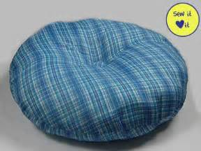 round pillows for bed round dog pillow bed pattern with a little button in the