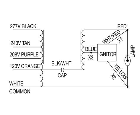hps ballast wiring diagram additional ballast wiring diagrams hps ballasts