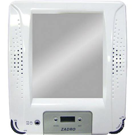bathroom radio mirror organize it home office garage laundry bath