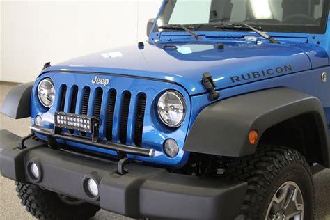 jeep light bar bumper rock hard 4x4 light mount for factory front bumper jeep
