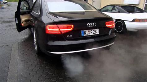 Audi A8 R Ckleuchten by Audi A8 4 2 Quattro Sound Exhaust
