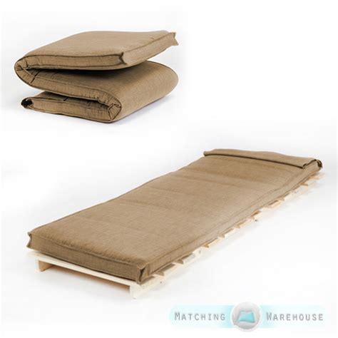 futon faltbar futon matratze einzelbett faltbar schaum f 252 llung bezug