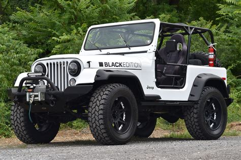 jeep cj 1980 jeep cj7 black edition black edition motorsport