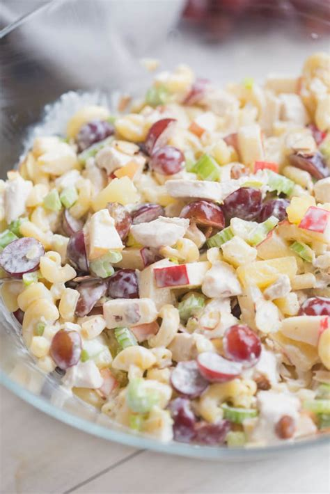 sweet n creamy macaroni salad picture the recipe macaroni fruit salad tastes better from scratch