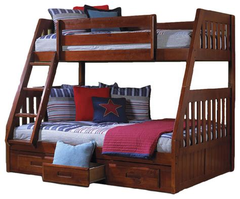 american furniture classics bunk bed merlot twin and