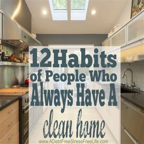 clean habits habits to keep your home clean cleaning habits how to