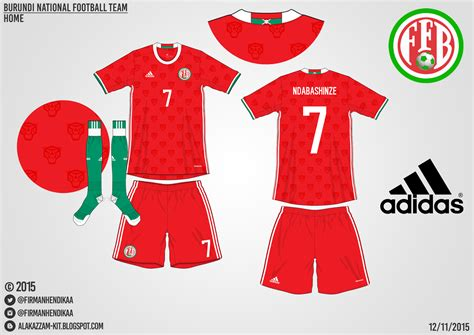 Kaos Kaki Persib Bandung Home 2016 burundi national football team home kit adidas